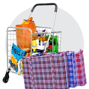 Laundry Bags & Shopping Carts