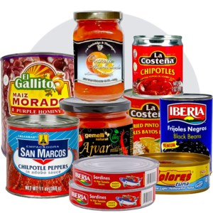 Canned And Jarred Foods