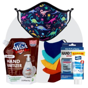 Sanitizers And Face Masks