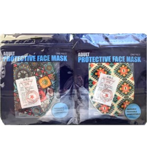 PRINTED FACE MASK #ETC-1012