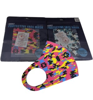 PRINTED FACE MASK #ETC-983