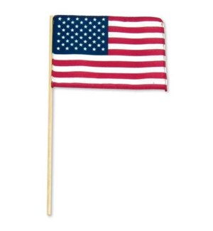 AMERICAN FLAG #1 PLASTIC STICK