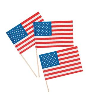 AMERICAN FLAG #3 PLASTIC STICK
