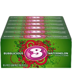 BUBBLICIOUS WATERMELON 18/5CT