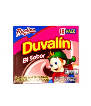 DUVALIN HAZELNUT&STRAWBERRY 6/18CT BB OCT/06/21