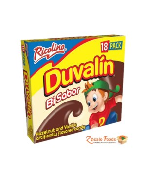 DUVALIN HAZELNUT&VANILLA 6/18CT BB NOV/24/21