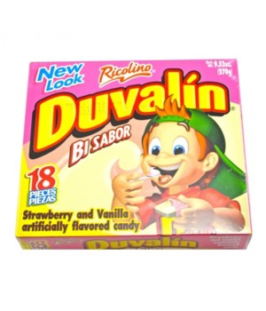 DUVALIN STRAWBERRY&VANILLA 6/18CT BB OCT/21