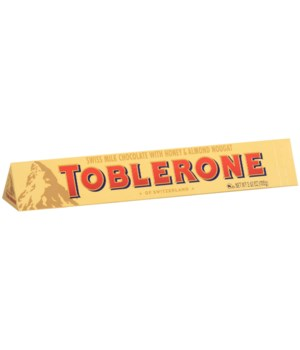 TOBLERONE  MILK CHOCOLATE 20/3.25OZ