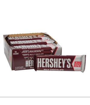 HERSHEYS BAR KING 18/2.6OZ