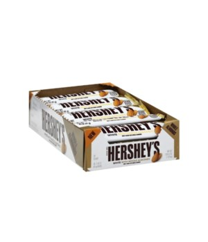 HERSHEYS WHITE CREAM&ALMONDS 36/1.45OZ
