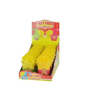 FAST FRIES CANDY SPRAY 12/0.67OZ