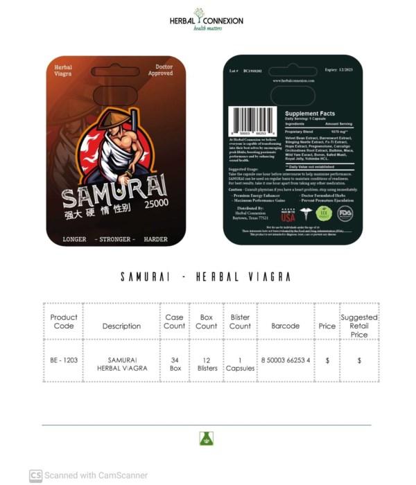 SAMURAI PREMIUM 12/1CT