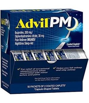 ADVIL DISPENSER PM 50/2PK