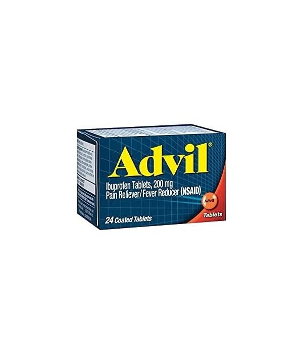 ADVIL TABLETS 6/24CT