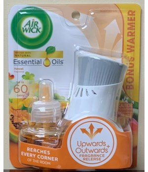 AIRWICK SCENTED OIL-STARTER KIT1+1 HAWAII EXOTIC  6/1PK (89733)