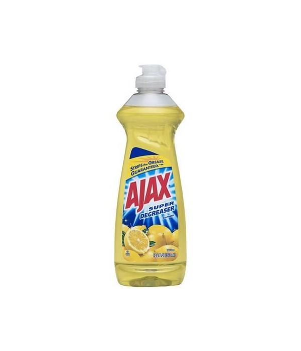 AJAX DISH WASHING LIQ  LEMON 20/14OZ (44668)