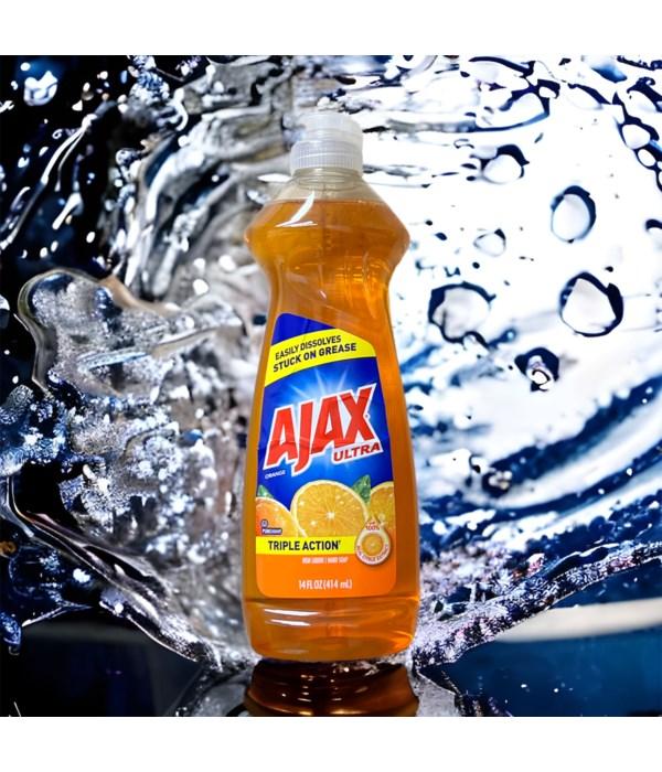 AJAX DISH WASHING LIQUID ORANGE 20/14OZ(4667)