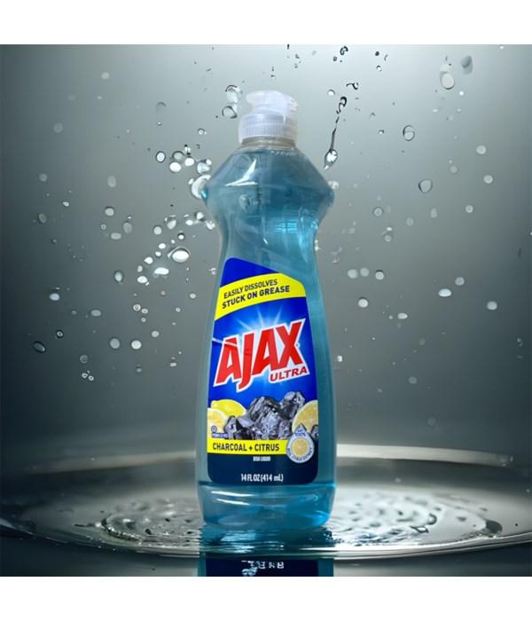 AJAX DISH WASHING LIQUID CHARCOAL+CITRUS  20/14OZ