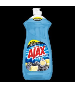 AJAX DISH WASHING CHARCOAL+CITRUS 9/28OZ