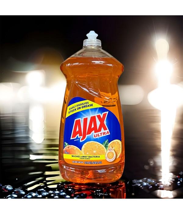 AJAX DISH WASHING LIQUID TRIPLE ACTION ORANGE 6/52OZ (49860)