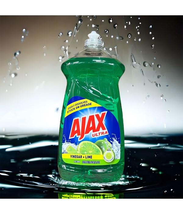 AJAX DISH WASHING LIQUID TROPICAL LIME TWIST 6/52OZ (49863)