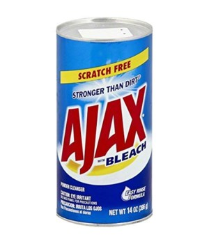 AJAX SCOURER POWDER CLEANSER 24/14OZ(95360)