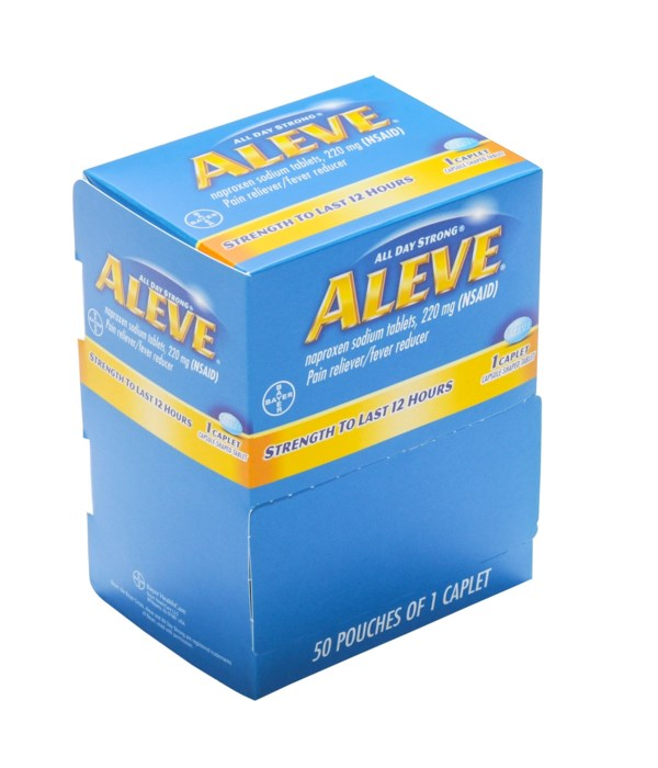 ALEVE PAIN RELIEVER DISPENSER 48/1PK