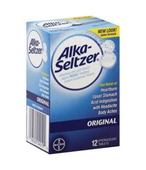 ALKA-SELTZER ORIGINAL 12/12CT