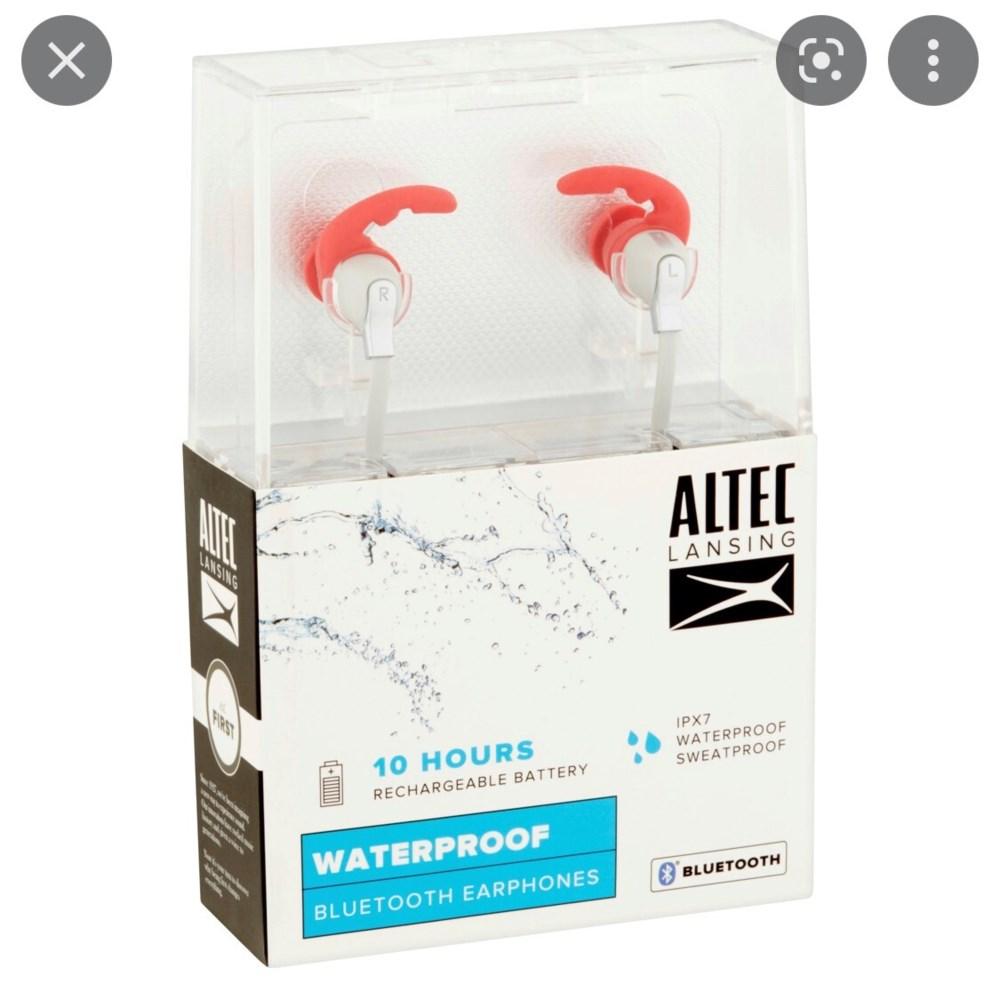 ALTEC LANSING BT EARPHONES WATERPROOF 1CT
