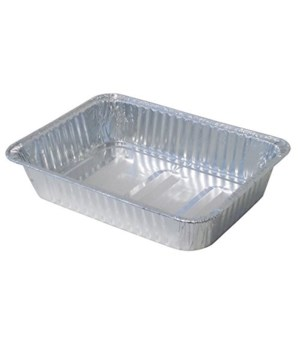 ALUMINUM PAN RECTANGULAR ROASTER100CT