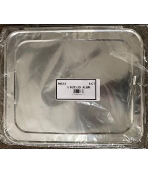 1/2 SIZE ALUMINUM LIDS 32/6CT (1002-6)