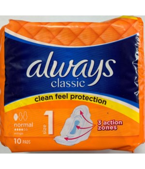 ALWAYS CLASSIC NORMAL 16/10CT(9268)