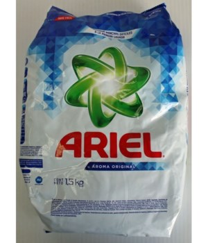 ARIEL LAUNDRY DOBLE PODER REGULAR 12/1.5KG(20865)
