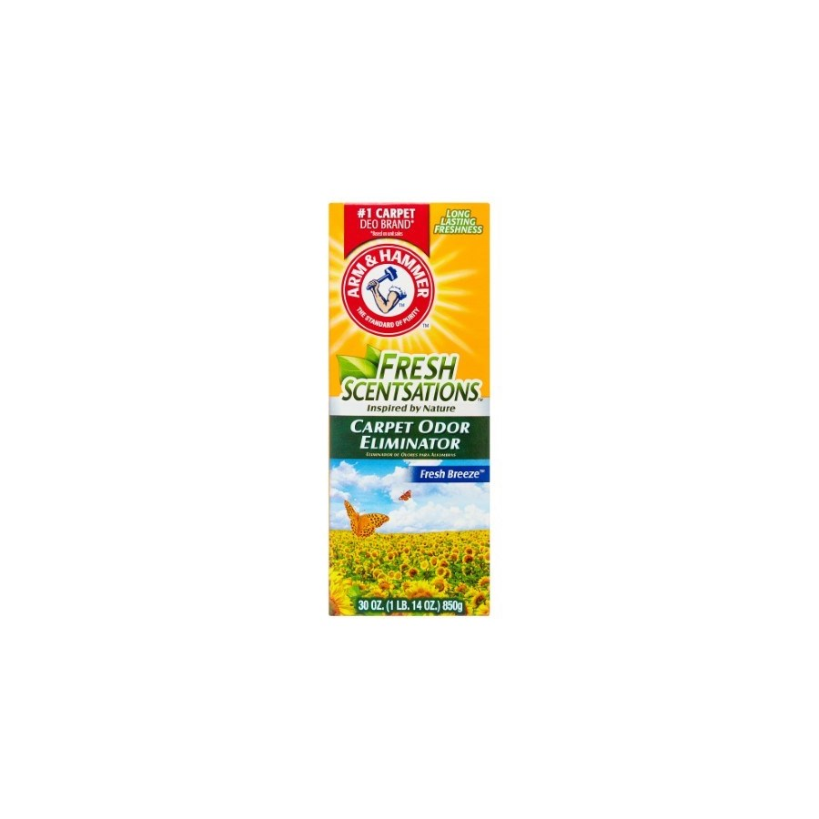 ARM&HAMMER CARPET ODOR ELIMINATOR FRESH BREEZE 6/30OZ(11525)