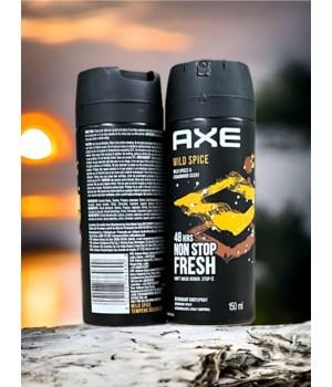 AXE BODY SPRAY WILD SPICE 12/150ML