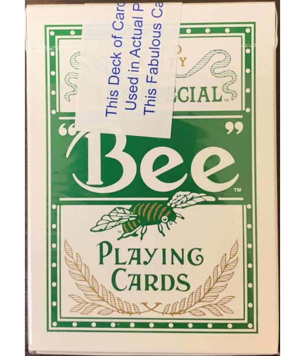 BEE PLAYING CARDS 1DZ
