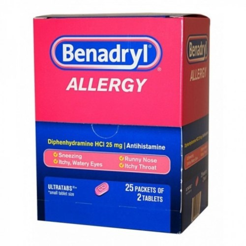 BENADRYL ALERGY DISPLAY 25/2PK