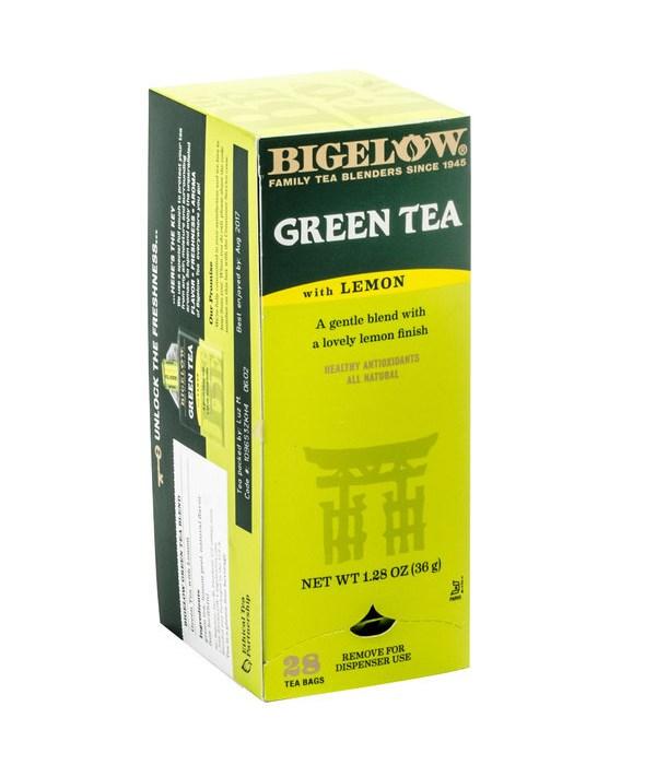 BIGELOW TEA GREEN TEA 6/28CT