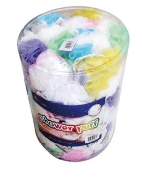 SHOWER PUFF 60CT