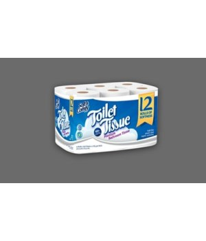 SOFT&CONFTY BATHROOM TISSUE 4/12PK