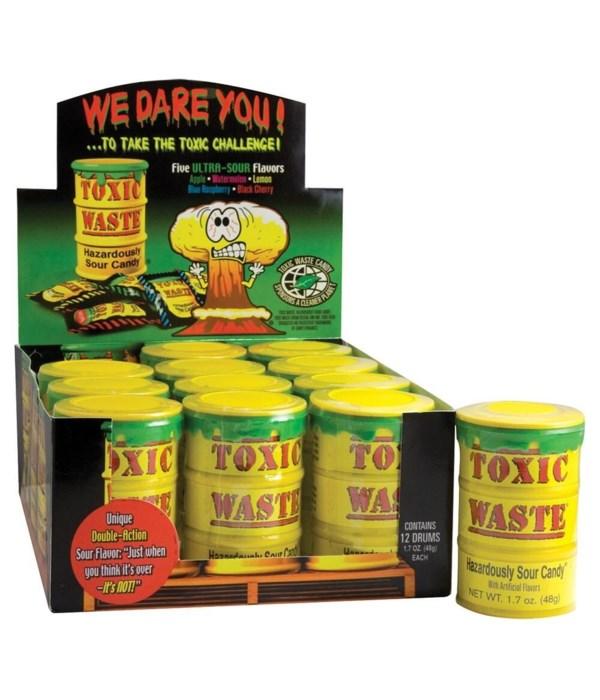 TOXIC WASTE 5 FLAVORS 12/1.7OZ