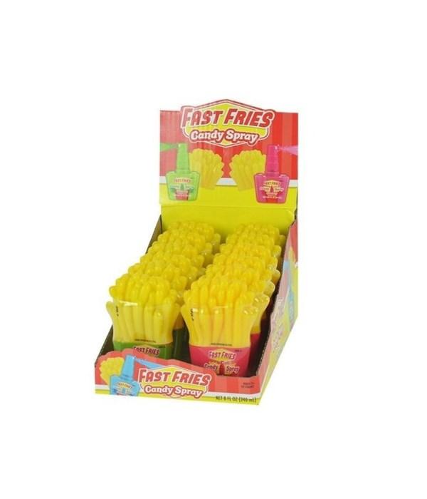 FAST FRIES CANDY SPRAY 12/0.67OZ