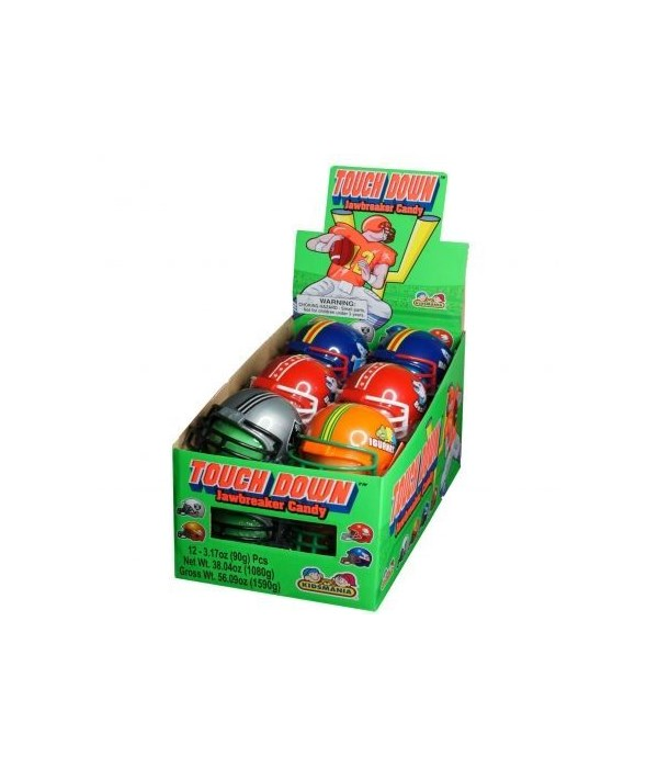 TOUCH DOWN JAWBRAKER CANDY 12CT