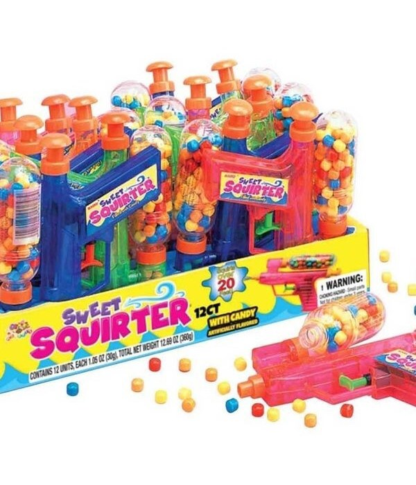 SWEET SQUIRTER  FILLED W/CANDY 1DZ