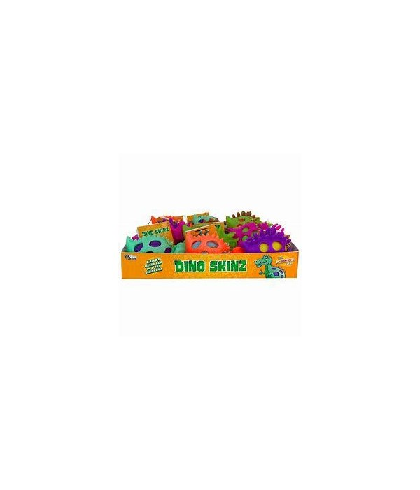 DINO SKINZ EGGS WITH SMARTIES 24CT