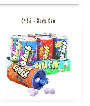 SODA CAN FIZZY CANDY 12/4PK EXP 04/23