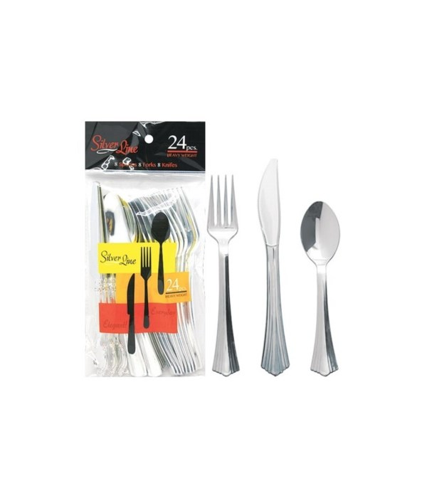 SILVER CUTLERY COMBO 48/24CT
