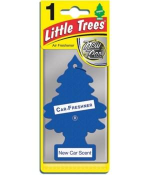 LITTLE TREE NEW CAR FRAGANCE 24/1PK