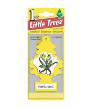 LITTLE TREE CAR FRESHNER VANILLAROMA 24CT