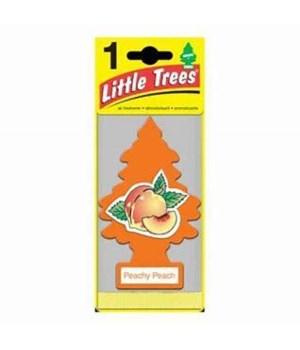 LITTLE TREE CAR FRESHNER PEACHY PEACH 24CT